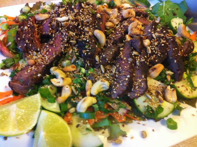 15 minute Jamie's continue... with this example being thai beef Jamie style